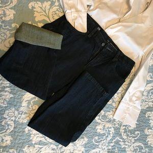 Liz Claiborne Crop Denim Capri's  Jeans size 6